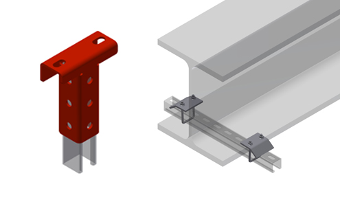 UNO starter brackets and beam clamps
