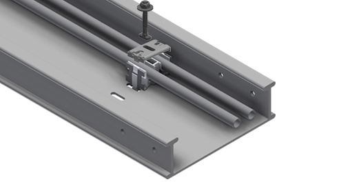FTE pre-slotted channels