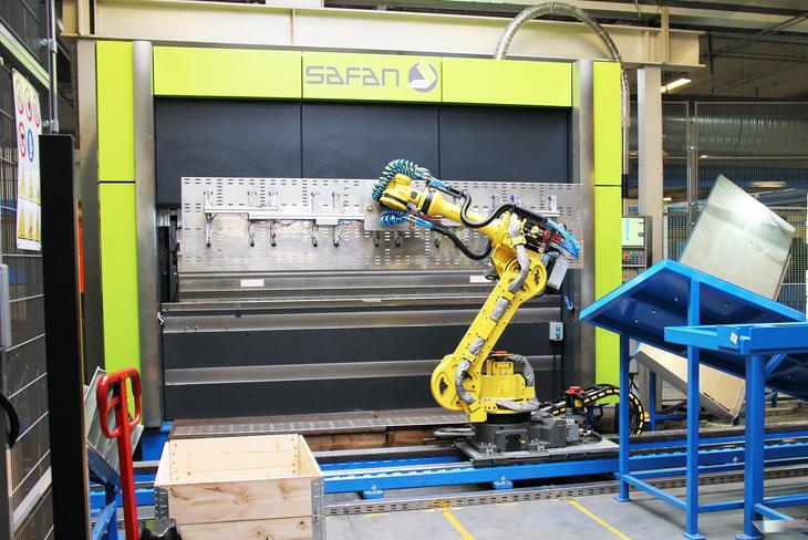New equipment in our Norwegian factory