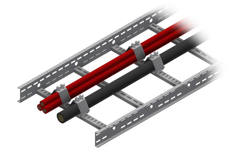 Зажимы и пояски для кабеля