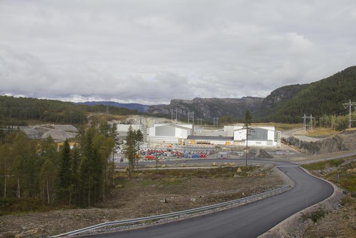 Kabelbane og kabelstige leveranse til Ertsmyra transformatorstasjon